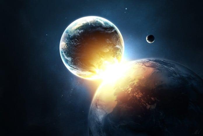 Choque de Tiamat com a Terra