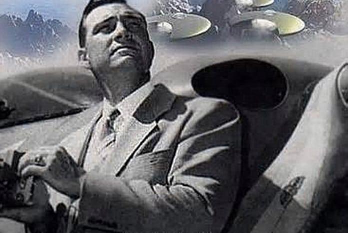 Kenneth Arnold e os OVNIs avistados