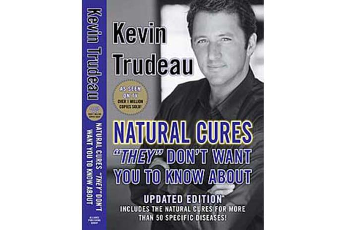 Capa do Livro «Curas Naturais que 'Eles' Não Querem que Você Saiba» de Kevin Trudeau