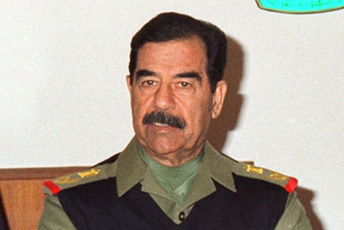 CIA afirma que Saddam Hussein é gay