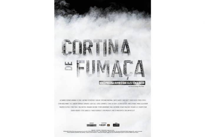 Capa do DVD do documentário: Cortina de Fumaça (2010)