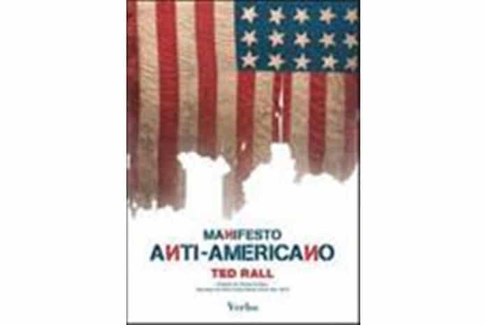 Capa do livro: «Manifesto Anti-Americano» de Ted Rall