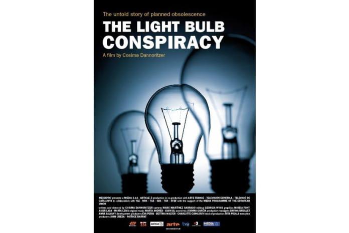 Capa do DVD do documentário: The Light Bulb Conspiracy (Comprar,llençar,comprar) (2010)