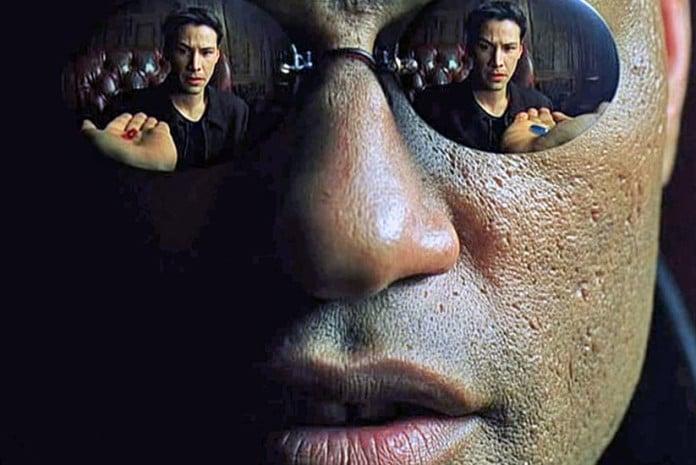 A vida como no Matrix