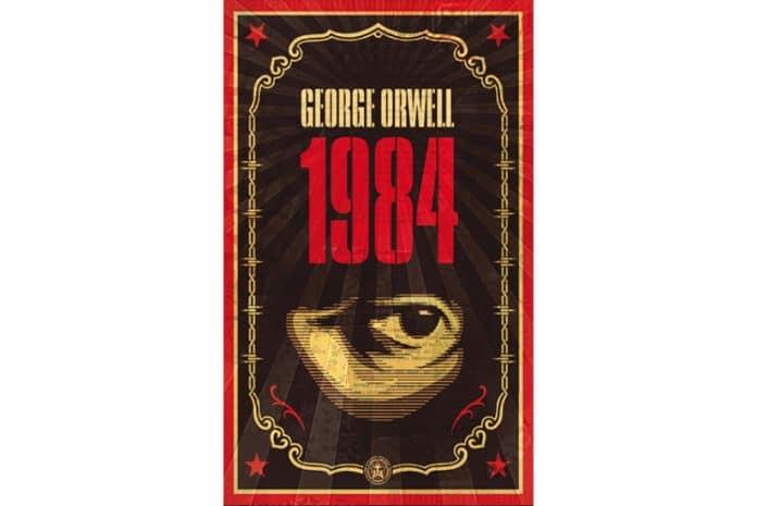 Capa do LIVRO: «1984» de George Orwell