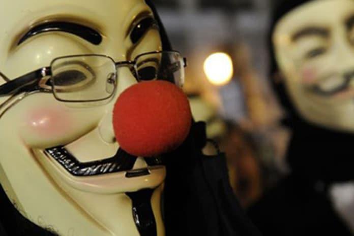 O maior ataque à Rede dos Anonymous