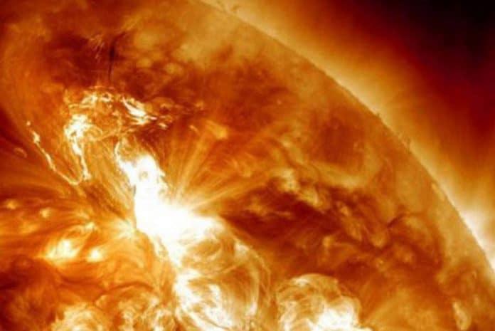 Tempestade solar catastrófica