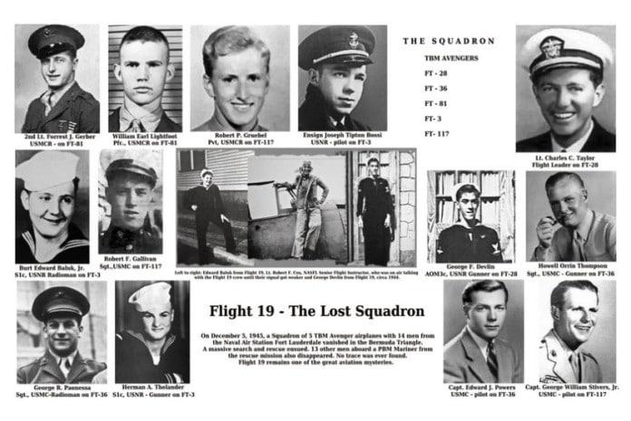 O estranho desaparecimento do Flight 19