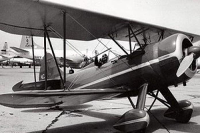 Desaparecimento do Biplano Waco