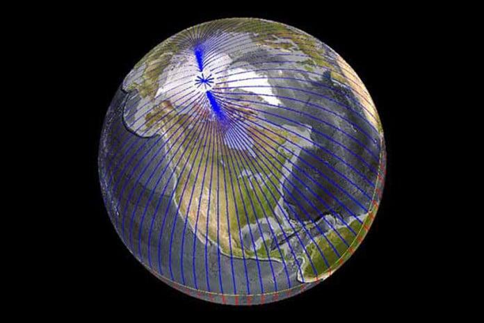 Magnetismo dos Pólos na Terra