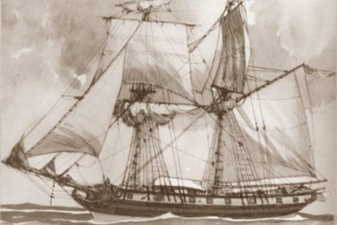 Grampus, o heróico navio