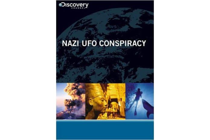 Capa do DVD: Documentário: Nazi UFO Conspiracy (TV 2008)