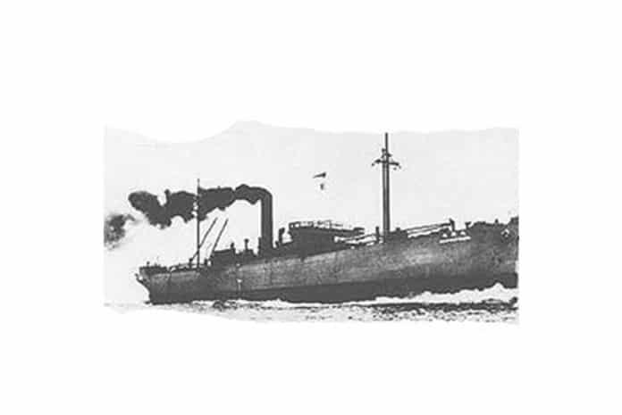 A viagem do cargueiro Raifuku Maru