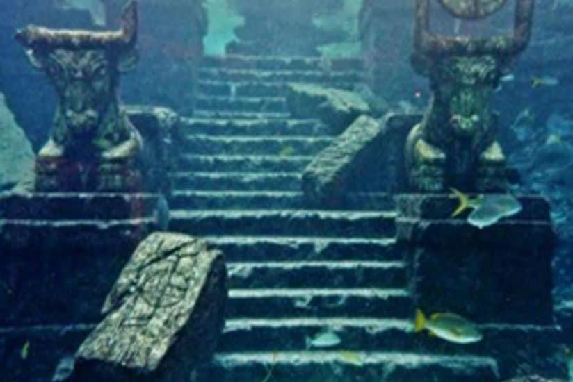 Atlântida submersa
