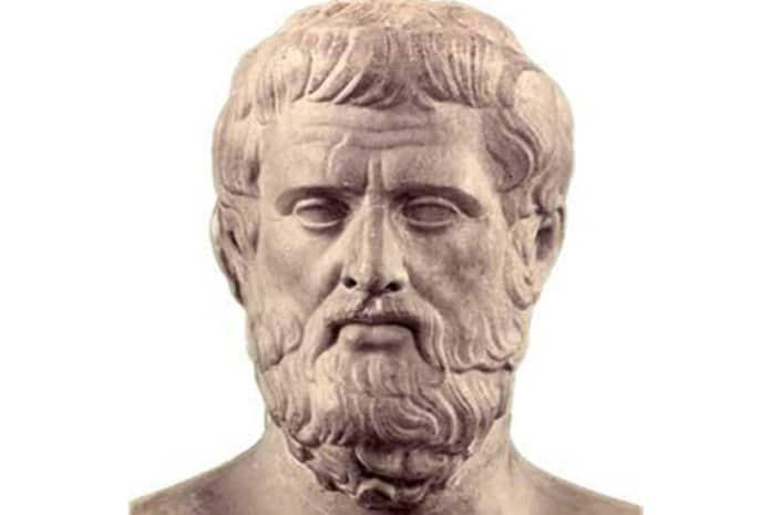 Dramaturgo grego Ésquilo