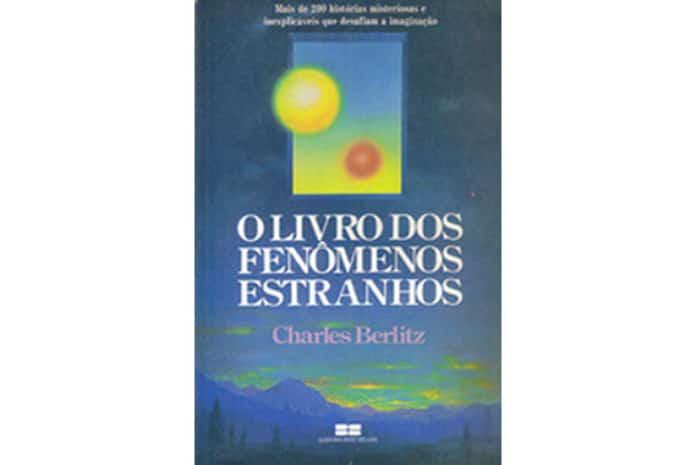 Capa do Livro: «O Livro dos Fenómenos Estranhos» de Charles Berlitz