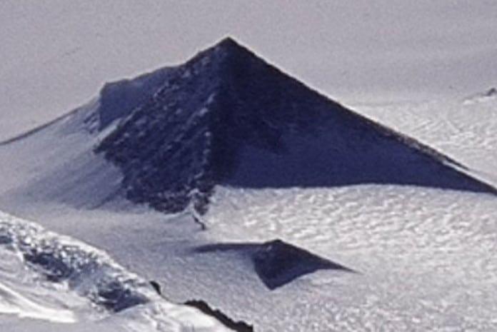 O mistério da existência de Pirâmides na Antártida