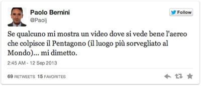 Bernini no Twitter