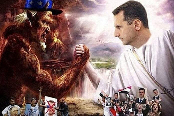 Aliados com os EUA na Guerra da Síria