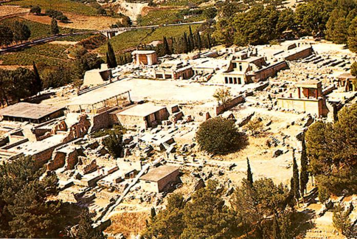 Ccidade de Knossos, a cidade mais antiga da Europa