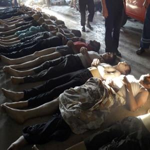 Ataque químico Síria