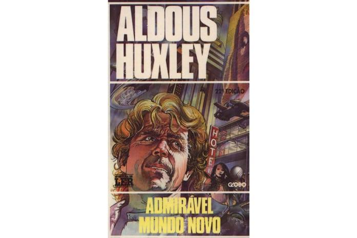 Capa do livro - «Admirável Mundo Novo» de Aldous Huxley