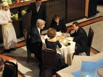 John Kerry e Bashar al-Assad