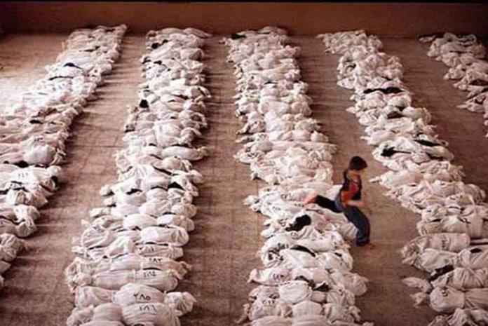 Foto usada por Kerry para 'demonstrar' ataque químico na Síria foi tirada no Iraque