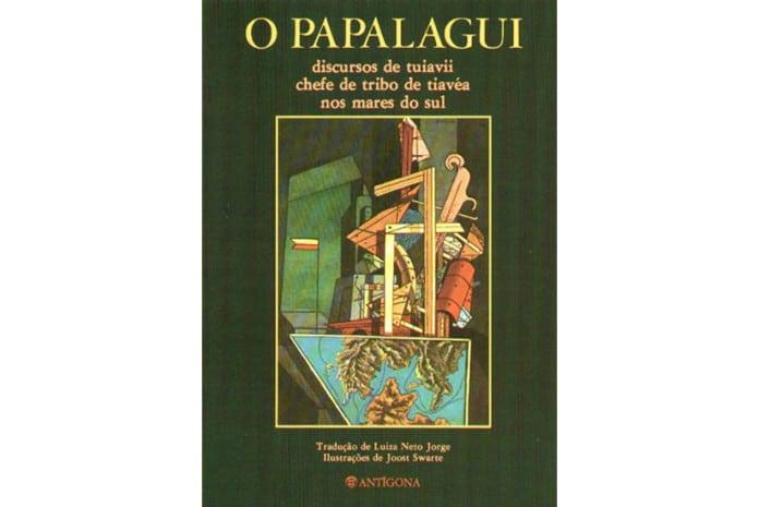 Capa do Livro: «O Papalagui» de Tuiavii de Tiavea