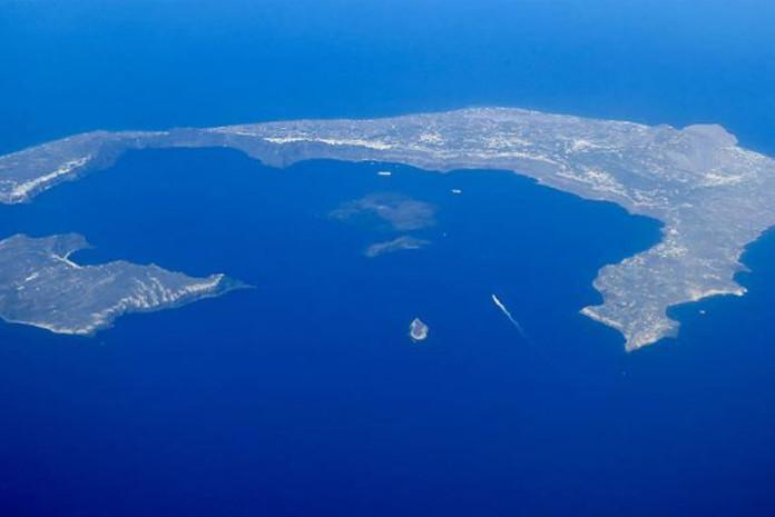 Santorini, a Atlântida