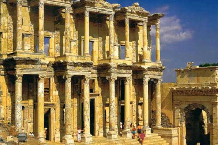 Ruínas da Antiga Biblioteca de Alexandria