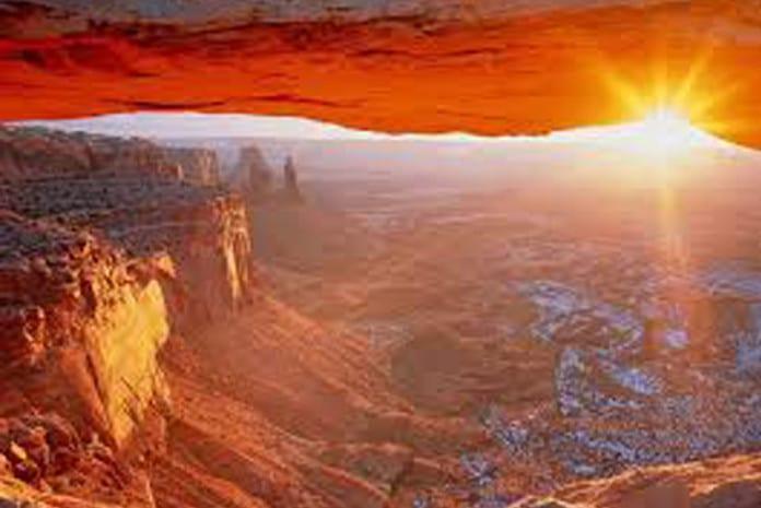 Grand Canyon - Vista parcial do interior de uma gruta