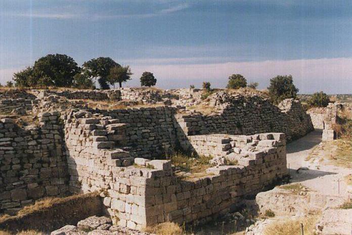 A cidade antiga de Helike