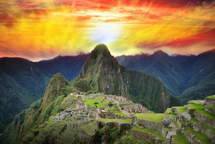 Machu Picchu, também chamada