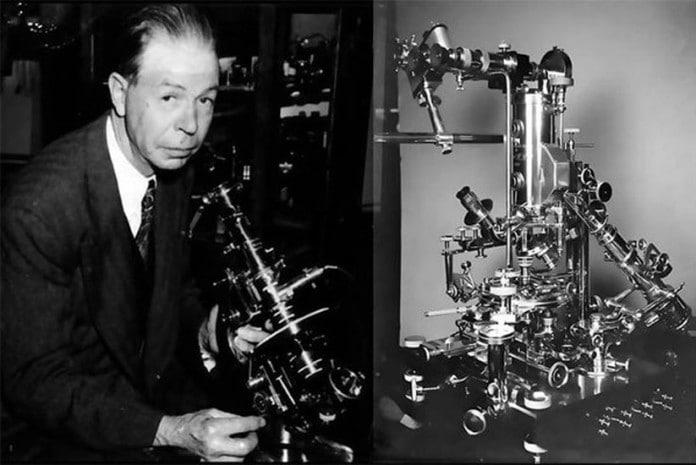 Royal Raymond Rife e o microscópio