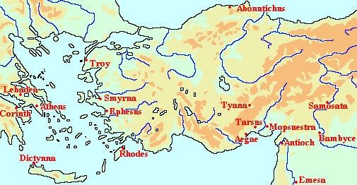 As viagens de Apolónio de Tiana