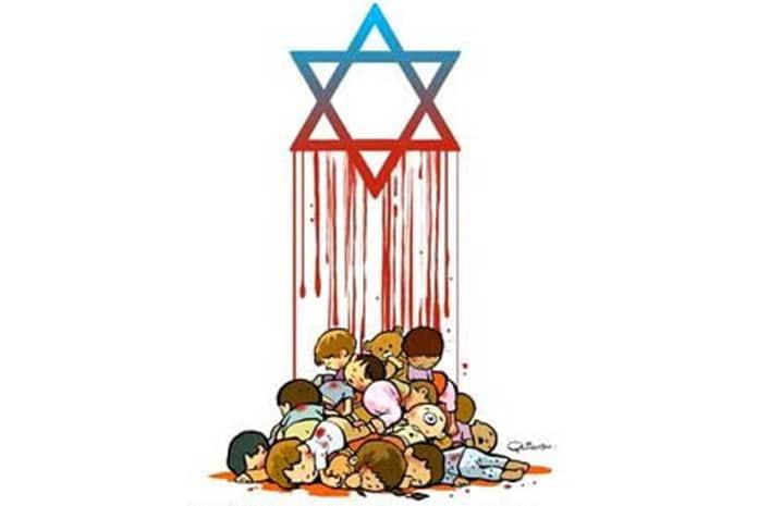 Banhos de sangue patrocinados pelos Sionistas