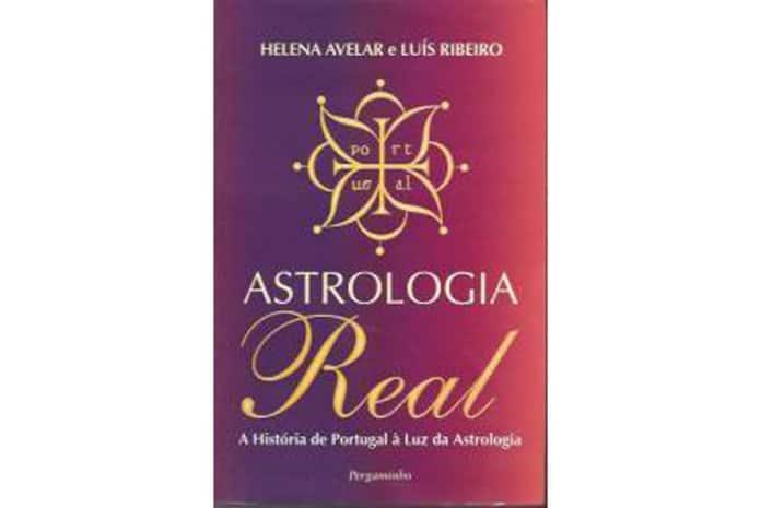 Capa do Livro: «Astrologia Real» de Helena Avelar e Luís Ribeiro