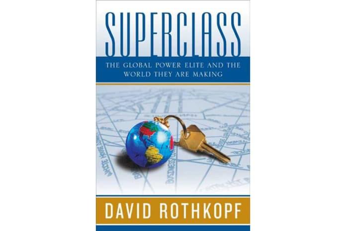 Capa do Livro: «Superclasse» de David Rothkopf