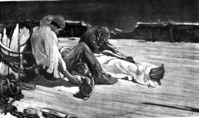 Ilustração da Narrativa de Arthur Gordon Pym