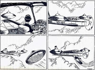 Banda Desenhada que apresenta a sequência do sucedido