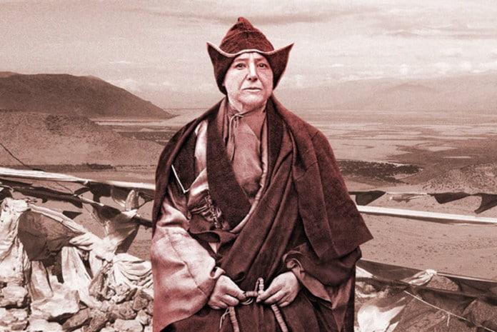 Alexandra David-Neel no Tibete