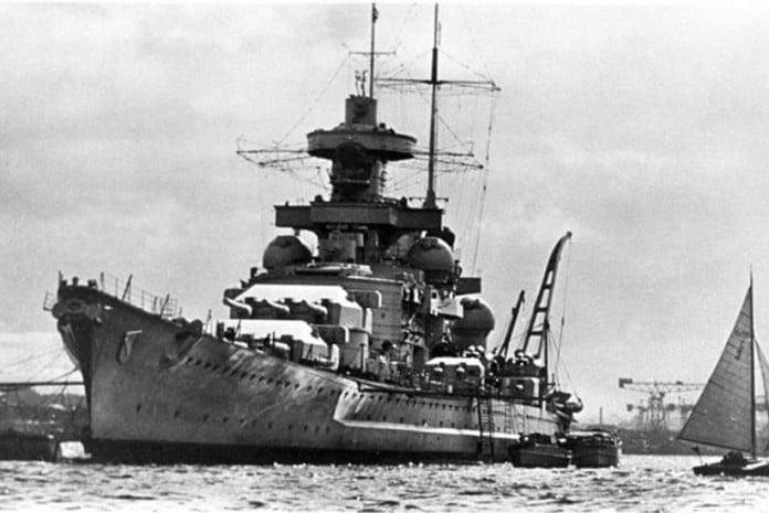 Navio Nazi Scharnhorst