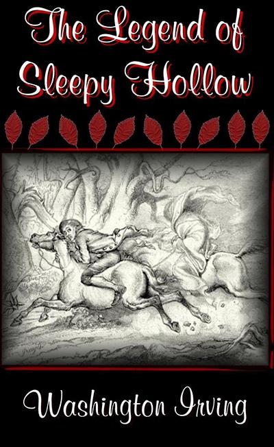 Capa do Livro «Legend of Sleepy Hollow» («A Lenda do Cavaleiro sem Cabeça»)