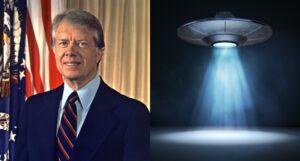 O avistamento de um OVNI por Jimmy Carter