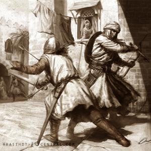 Hashashin em combate