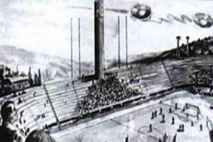 Retratamento de OVNI's a sobrevoar o Estádio Artémio Franchi