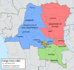 Mapa de Catanga