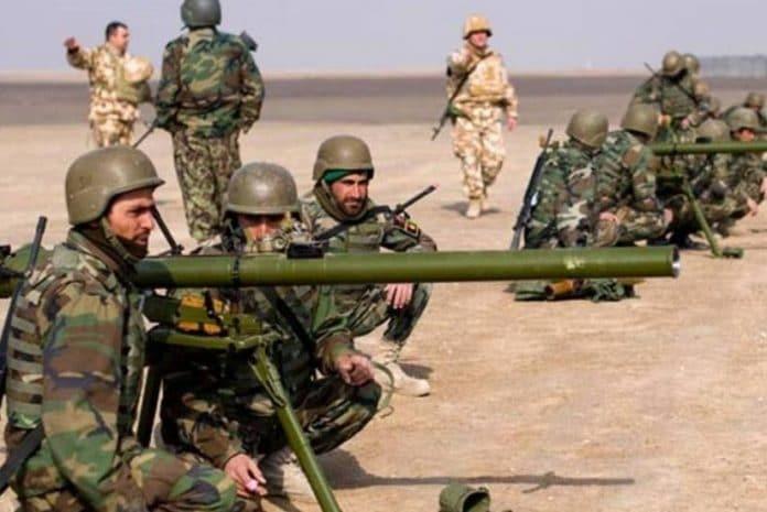 Guerra no Afeganistão - Foto tirada em 2010