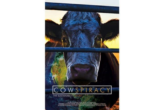 Capa do DVD do Documentário «Cowspiracy: The Sustainability Secret» (2014)